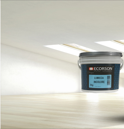 Transparent, protective paint Lumicca Incolore