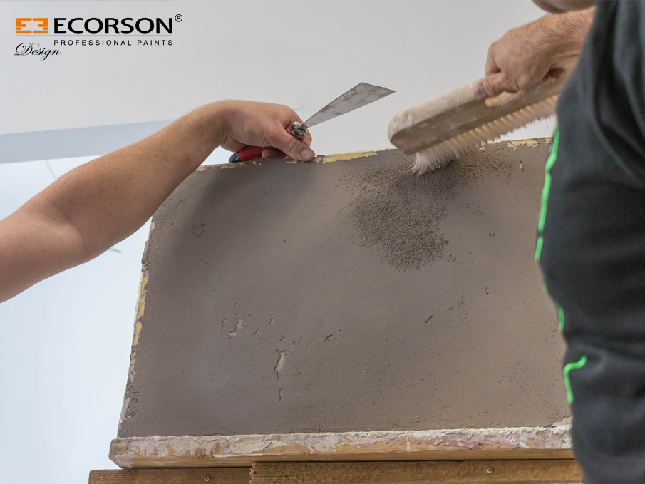 BETON MARMO plaster 25kg : Home decorations for walls - EN ...